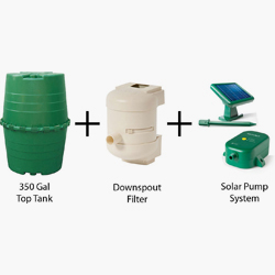 Rainmaster 350-Gallon Collection System
