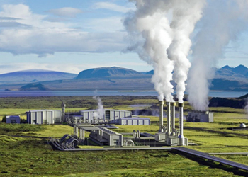Geothermal Power Plant - Image Credit: Seismology.org