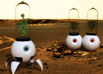 """Le Petit Prince"" Mars Robot - Image credit: tuvie.com"